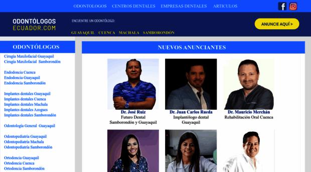 odontologosecuador.com