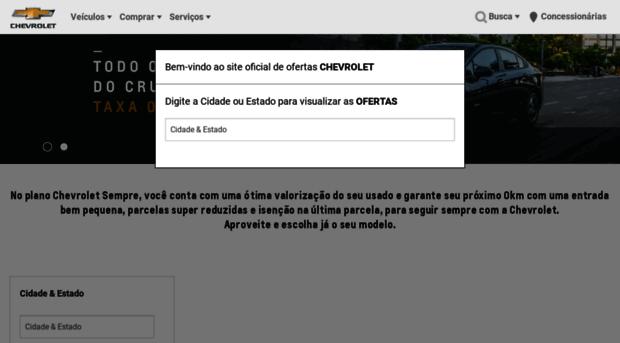 ofertaschevrolet.com.br