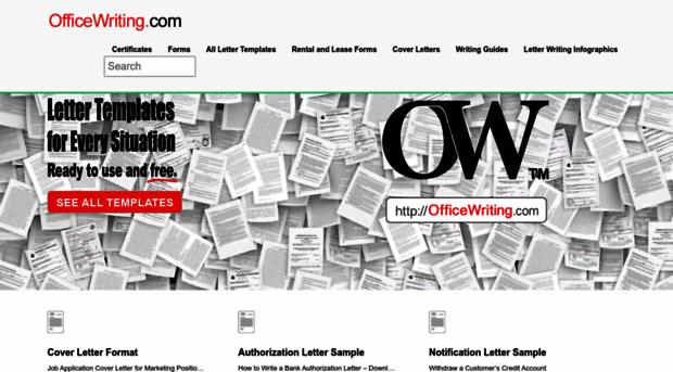 officewriting.com
