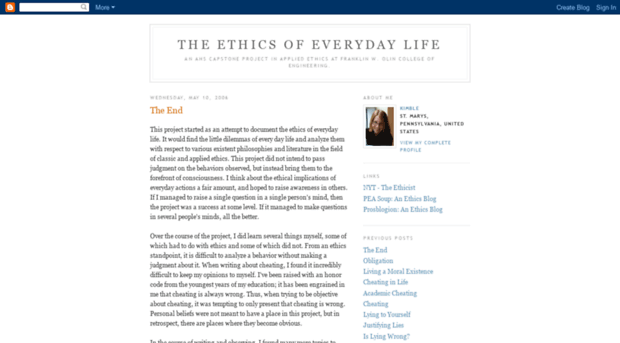 ethics in our everyday lives 26012017 - social and human sciences sector what exactly is bioethics how is it linked to our everyday lives interview with eugenijus gefenas.