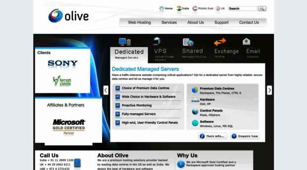olivewebhosting.com
