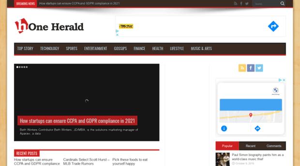 oneherald.net