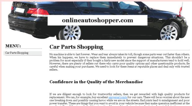 onlineautoshopper.com