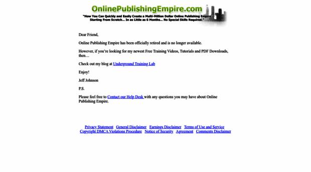 onlinepublishingempire.com