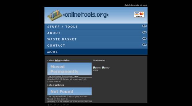 onlinetools.org