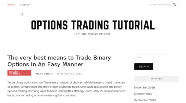 options-trading-tutorial.org
