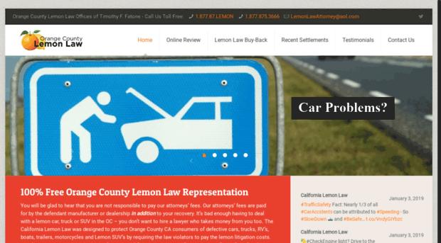 orangecountylemonlaw.com