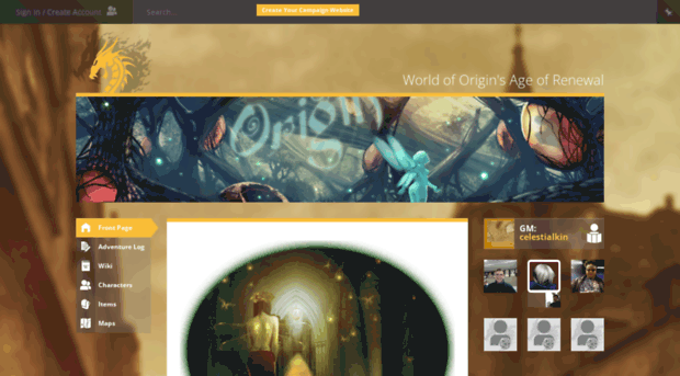 origin.obsidianportal.com