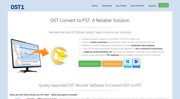 Recover data from ost file outlook 2007