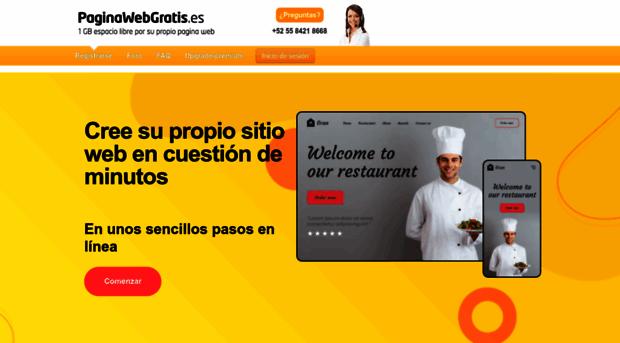 paginawebgratis.es