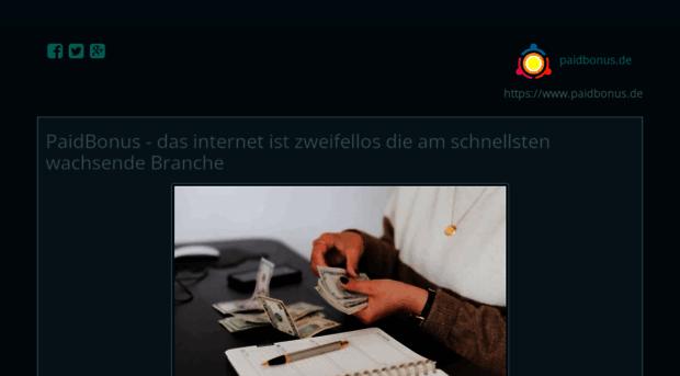 paidbonus.de