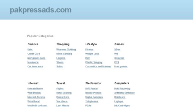 pakpressads.com