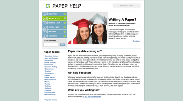 help with writing term papers Term paper help writing at our service is 24/7 here for you get only qualified term papers from professionals.