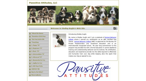 pawsitiveattitudes.thedogtrainer.org