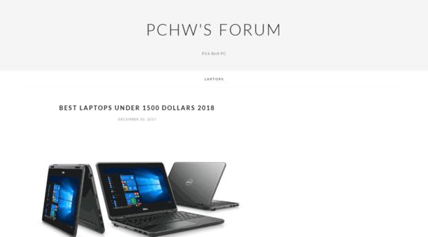 pchwforum.com