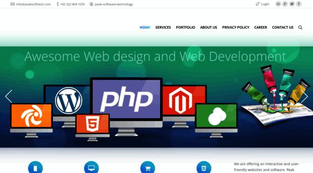 peaksofttech.com