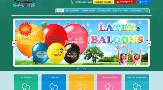 personalizedballoons.com