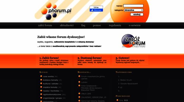 phorum.pl