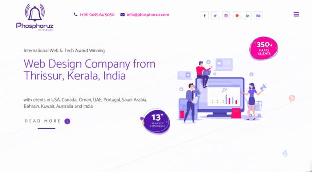 Phosphoruz Com Web Design Thrissur Kerala Phosphoruz