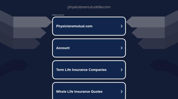 physiciansmutuallife.com