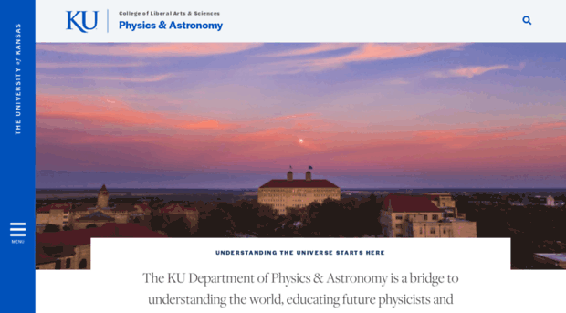 physics.ku.edu