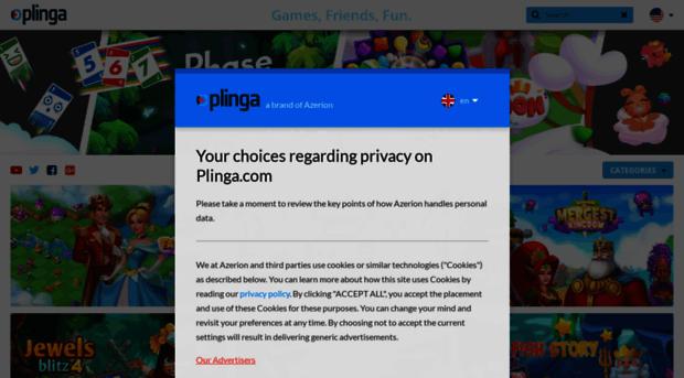 Plinga Play Spiele