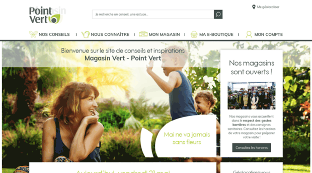 Agrial magasin point vert