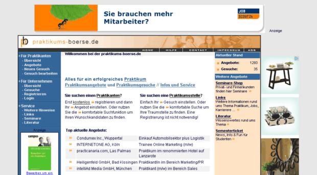 praktikums-boerse.de