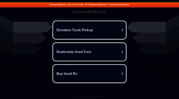 preownedfinder.com