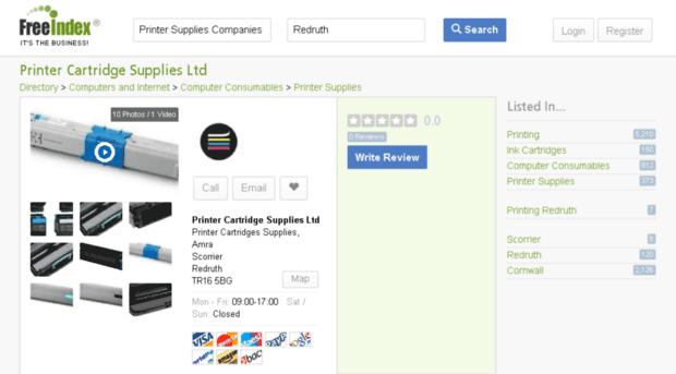 printercartridgesuppliesredruth.freeindex.co.uk