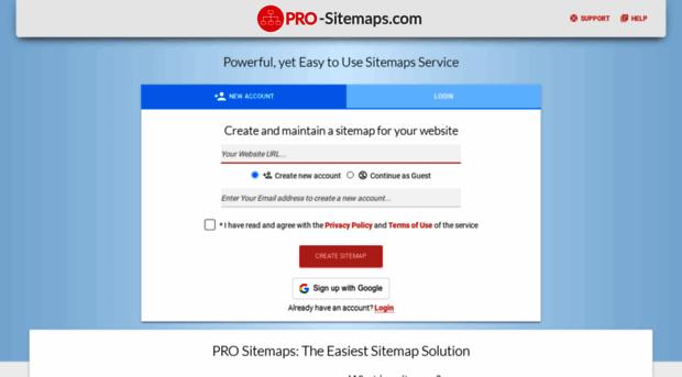 pro-sitemaps.com