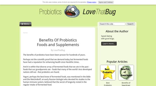 probiotics-lovethatbug.com