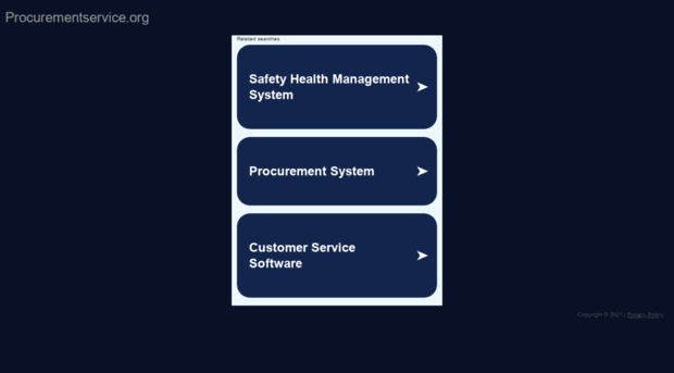 procurementservice.org