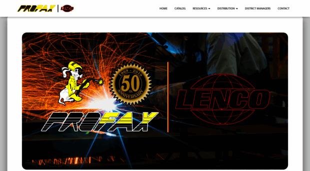 profax-lenco.com
