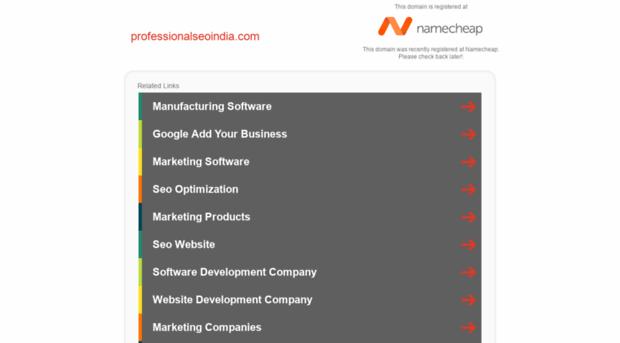 professionalseoindia.com