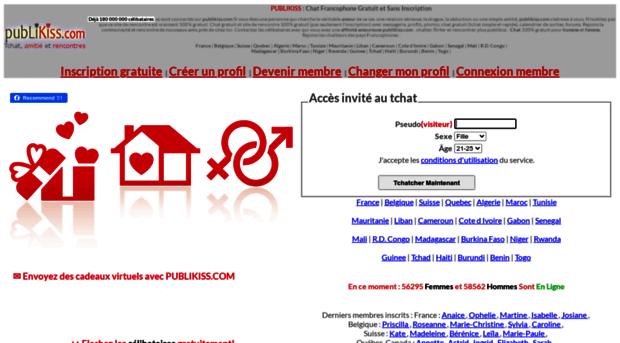Le tchat au Canada-francophone avec Chat Québec