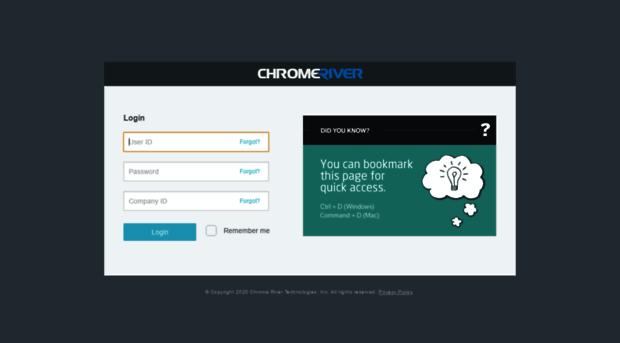 Qa App Chromeriver Com Chrome River Qa App Chrome River