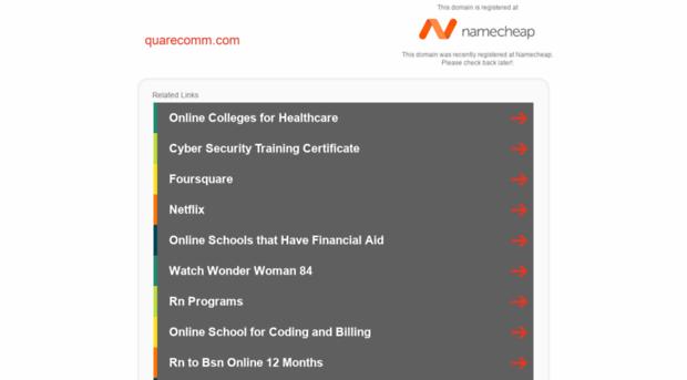 quarecomm.com