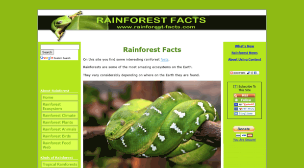 we are killing the rainforest fact Welcome to dosomethingorg, a global movement of 6 million young people making positive change, online and offthe 11 facts you want are below, and the sources for the facts are at the very bottom of the page.