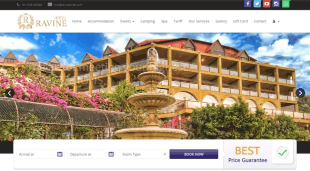 ravinehotel.com