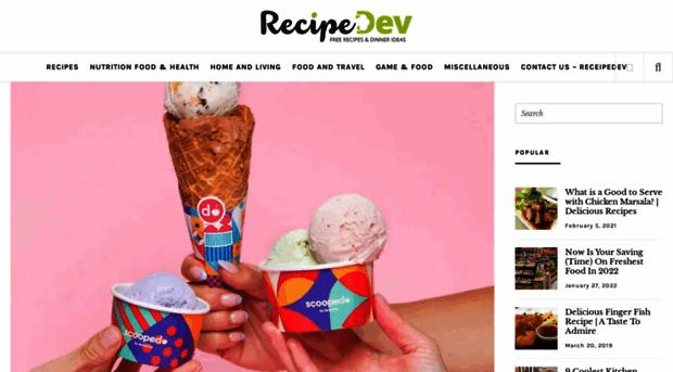 recipedev.com