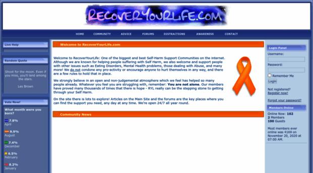 recoveryourlife.com