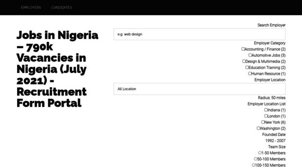 recruitmentformportal com - Recruitment Form Portal