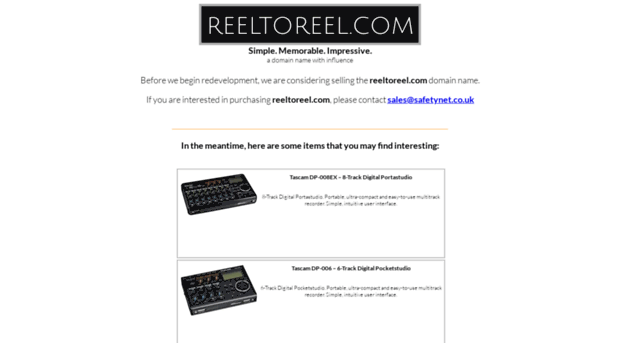 reeltoreel.com
