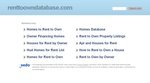 renttoowndatabase.com