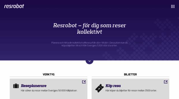 resrobot.se
