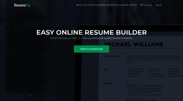 resumegig com - resumegig  build the resume th