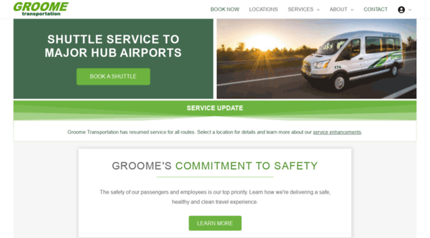 groome transportation columbuss online reservation system - 620×343