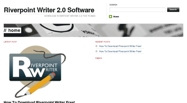 river point writer
