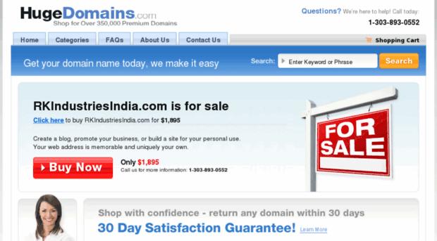rkindustriesindia.com
